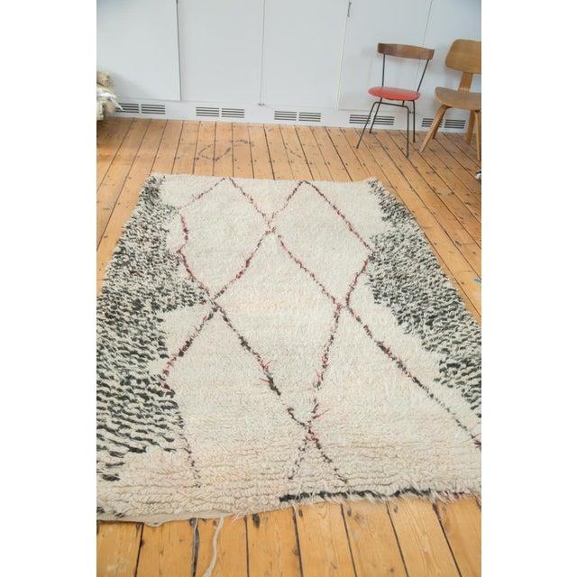 "Vintage Moroccan Carpet - 5'6"" X 8'3"" - Image 4 of 10"