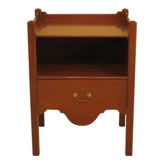 Kittinger Williamsburg Mahogany Bedside Commode For Sale