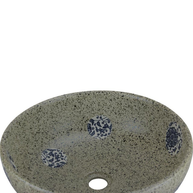 2010s Pasargad DC Modern Stone Design Sink Bowl For Sale - Image 5 of 6