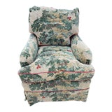 Image of Green Marco Handmade Club Chair For Sale
