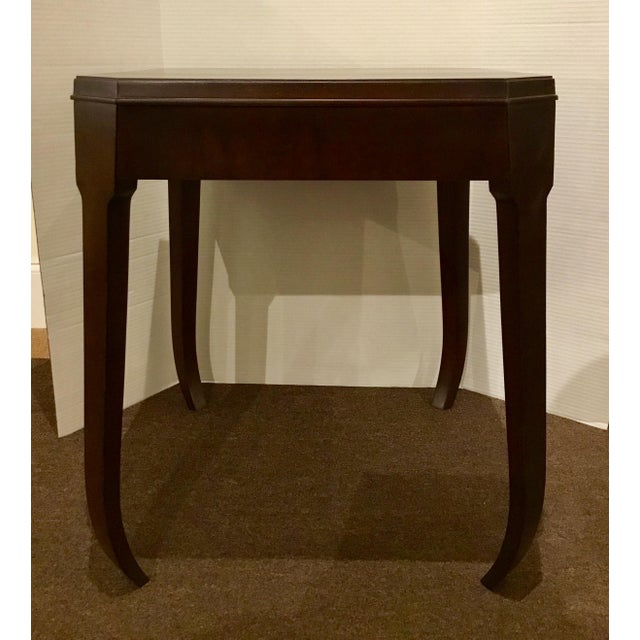 Hickory Chair Furniture Company Hickory Chair Modern Wabi Wood Side Table For Sale - Image 4 of 5