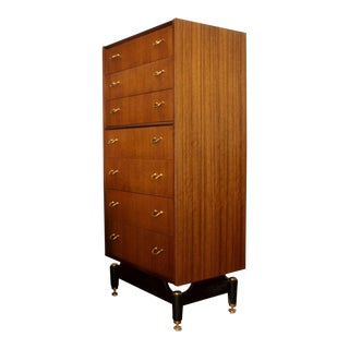 G-Plan Mahogany Dresser With Sculptural Base For Sale