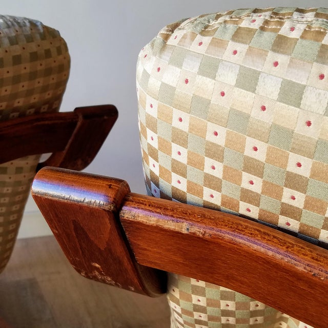1970s 1970s Westnofa Bentwood Lounge Chairs - a Pair For Sale - Image 5 of 13