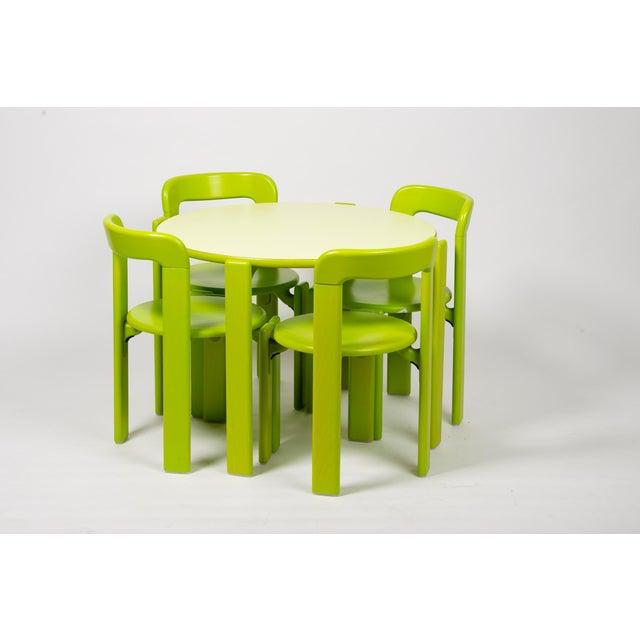 Dietiker Dietiker Rey Jr Arik Levy Soft Acid Color Green Chair For Sale - Image 4 of 6