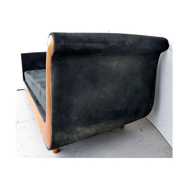 Biedermeier Style Italian Modern Sofa For Sale - Image 4 of 9