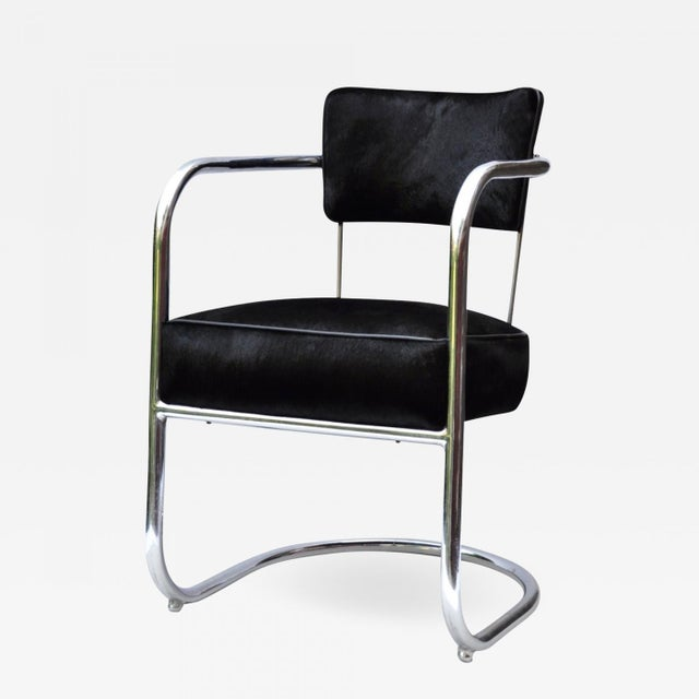 Armchair by Kem Weber for Lloyd Manufacturing 1930s For Sale - Image 10 of 10