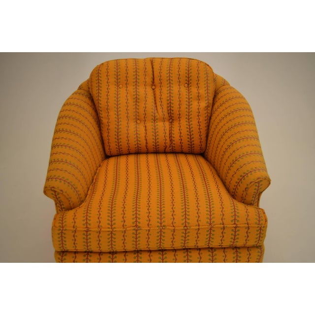 1960s Kay Lambeth for Erwin-Lambeth Club Lounge Bucket Chair For Sale - Image 6 of 10