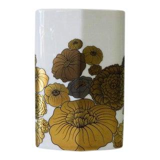Vintage Mid Century Porcelain Vase by Rosenthal For Sale