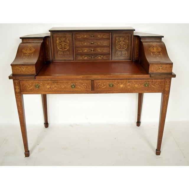 1900s English Carlton Desk - Image 2 of 11