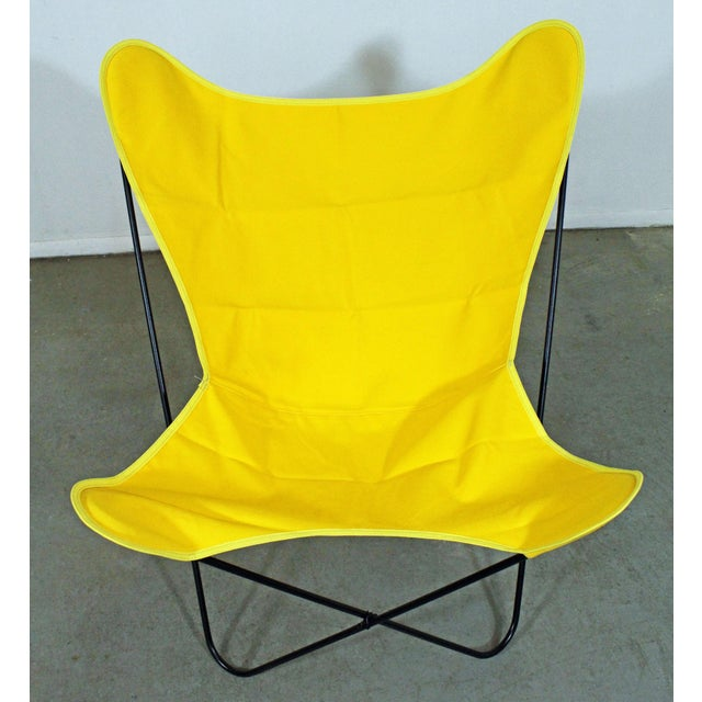 Mid-Century Modern Knoll Style Iron Butterfly Chair For Sale In Philadelphia - Image 6 of 8
