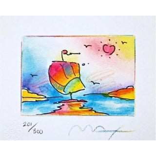 Peter Max Sailboat Series II 1998 For Sale