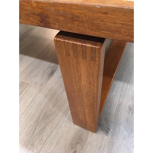 Danish Tile/Teak Coffee Table For Sale In New York - Image 6 of 8