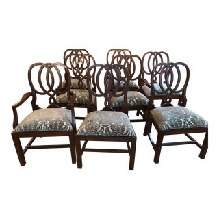 Bernhardt Martha Stewart Signature Ravenscleft Dining Chairs - Set of 8 For Sale