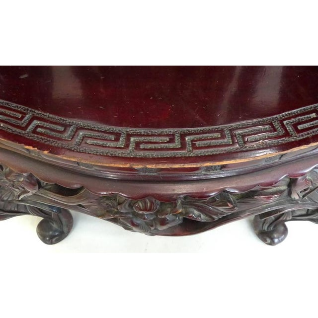 Late 19th Century Late 19th Century Japanese Meiji Throne Chair For Sale - Image 5 of 11