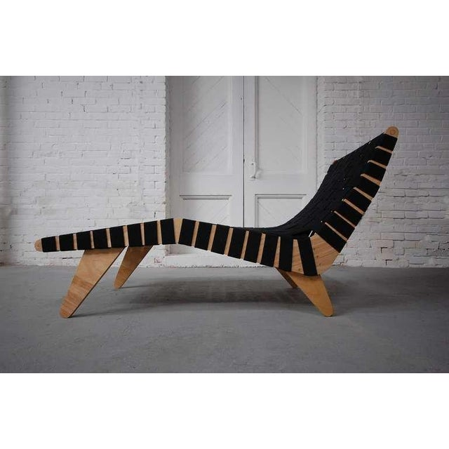 Mid-Century Modern Klaus Grabe Model C5 Chaise Longue For Sale - Image 3 of 6