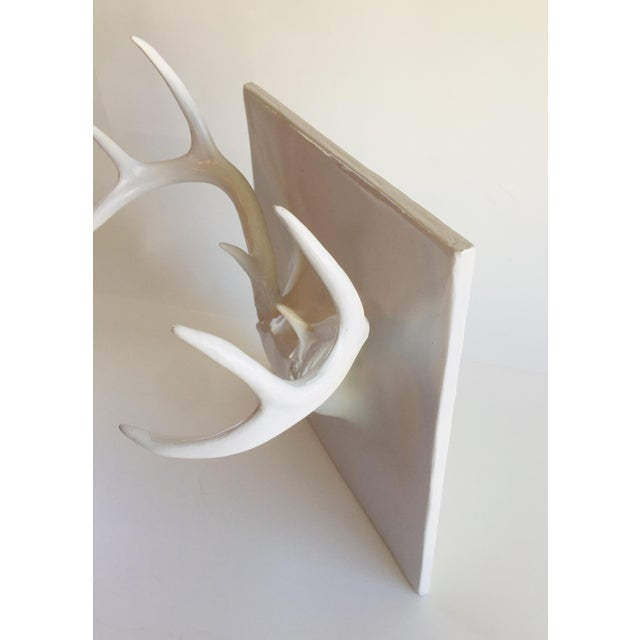 Contemporary Erich Ginder Ghost Antler Coat Rack Contemporary Design For Sale - Image 3 of 8