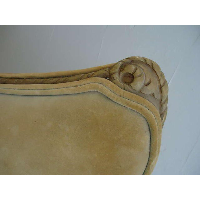 French Art Deco Velvet Armchairs - a Pair For Sale In New York - Image 6 of 10
