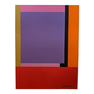 Geometric Acrylic on Canvas by Larry Kessler '04 For Sale