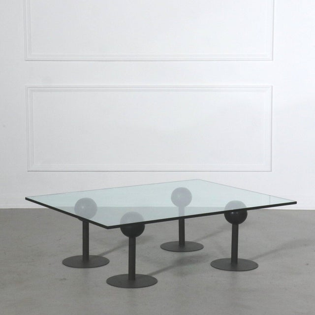 1982 France Philippe Starck Coffee Table for Les Trois Suisses Coffee Table For Sale In Tampa - Image 6 of 6