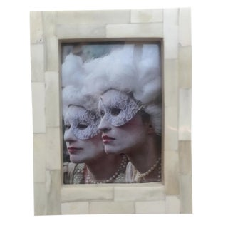 Modern White Bone Picture Frame For Sale