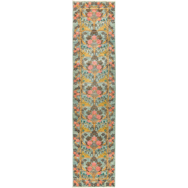 """Arts & Crafts Hand Knotted Runner Rug - 2' 8"""" X 11' 9"""" - Image 4 of 4"""