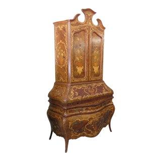 Italian Bombay Secretary Desk For Sale