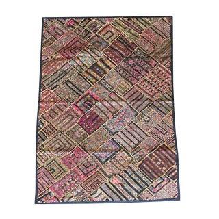 1880s Vintage Patchwork Tapestry For Sale