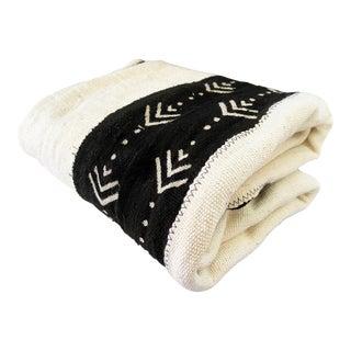 1980s African Bogolan Mud Cloth Textile For Sale