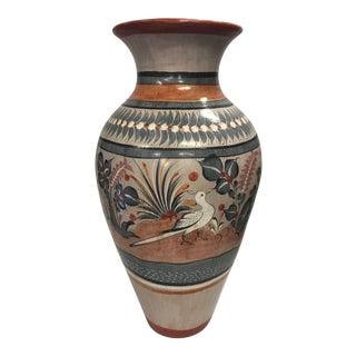 1990s Vintage Studio Art Pottery Stoneware Urn