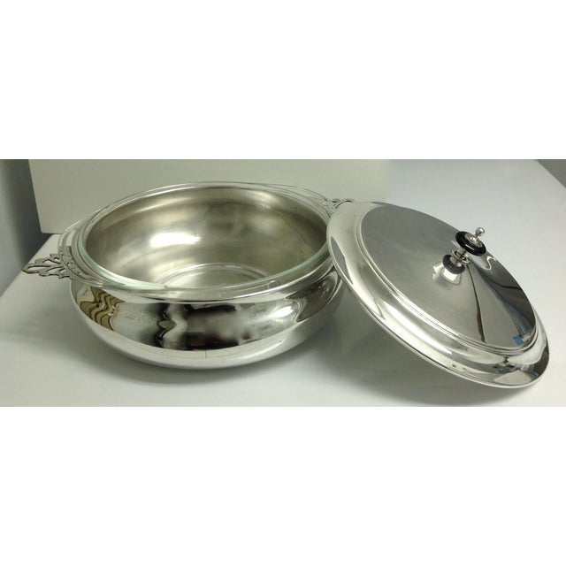 Silver Plate Lidded Chapin Dish Server Bowl - 3 Pieces For Sale In West Palm - Image 6 of 10