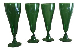 Image of Asian Wine Glasses and Goblets