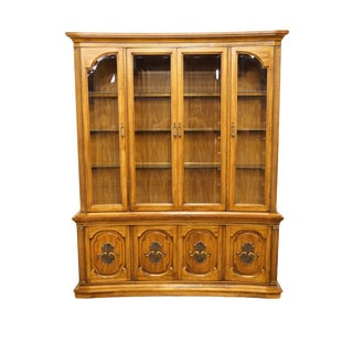 20th Century Italian Unique Furniture Winston-Salem Display China Cabinet For Sale