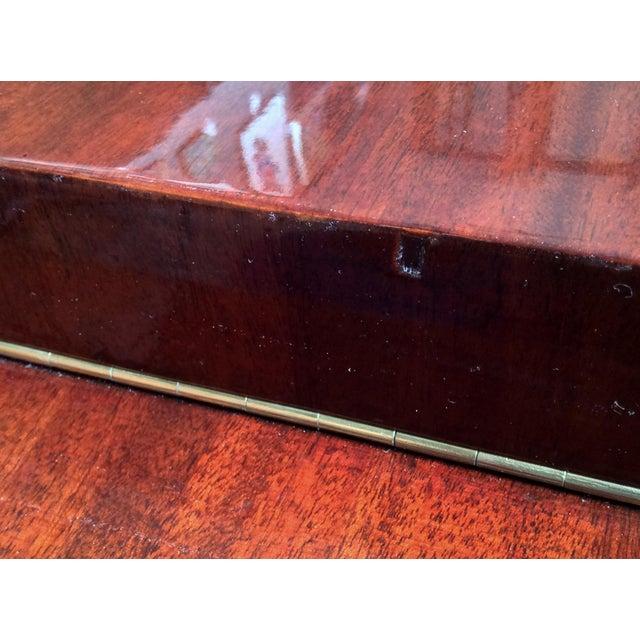 Gilbert Rohde Art Deco Oval Drop-Leaf Desk For Sale - Image 9 of 13