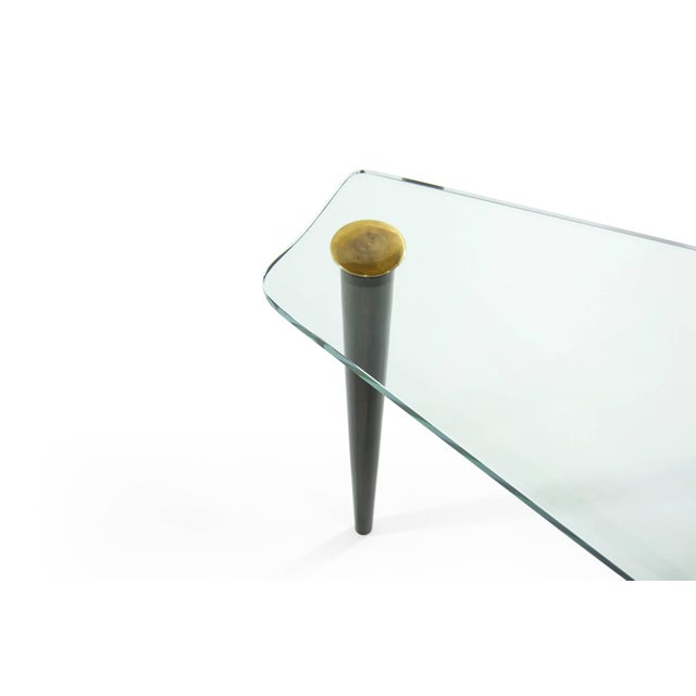 1950s Wedge Occasional Table by Gilbert Rohde for Herman Miller For Sale In New York - Image 6 of 10