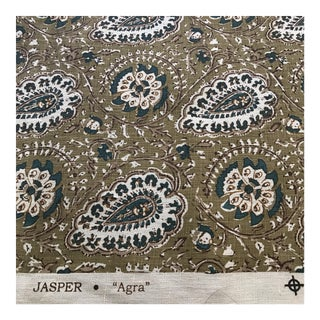"Jasper ""Agra"" Fabric- 1 1/4 Yards For Sale"