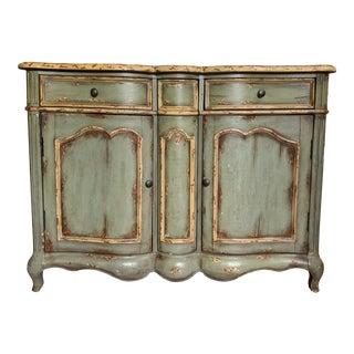 Vintage Italian Baroque Style Cupboard For Sale