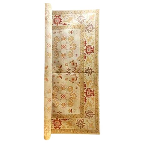Turkish Oushak Carpet - 10' X 14' For Sale