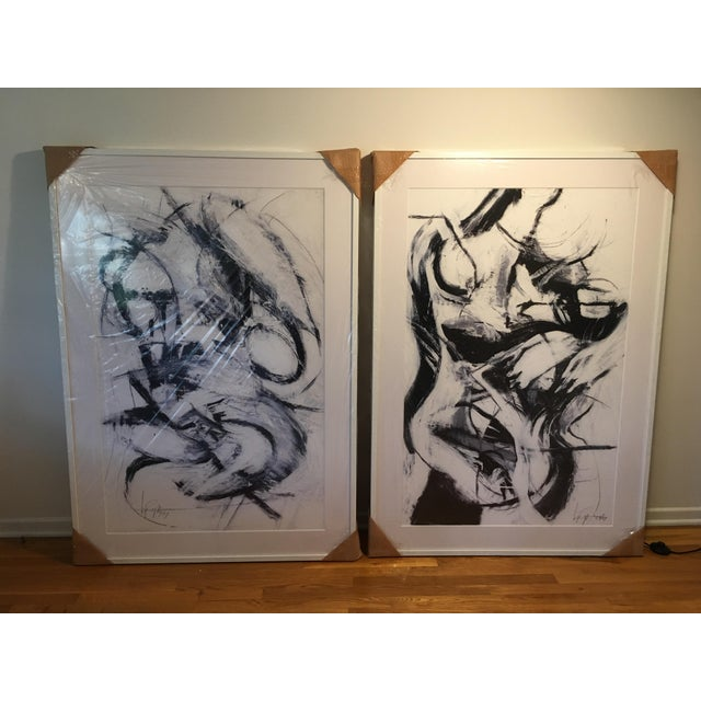 """White Beautiful for You -Mid-Century Modern Mad Men Style """"King & Queen of Hearts"""" Artwork Prints - a Pair For Sale - Image 8 of 8"""