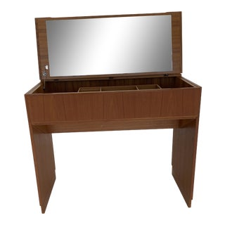 Danish Modern Vanity by Komfort For Sale