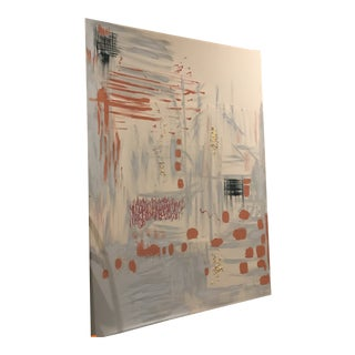 Mid Century Modern Abstract Art Piece For Sale
