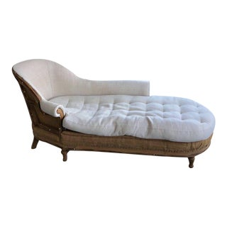Restoration Hardware Deconstructed French Victorian Right-Arm Chaise