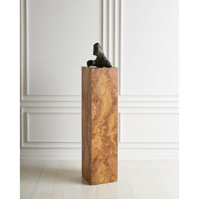Burl Effect Pedestal For Sale In Chicago - Image 6 of 6