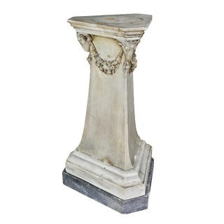 Louis XVI Marble Pedestal For Sale
