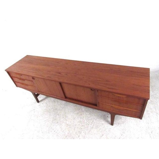 Scandinavian Modern Teak Sideboard or Television Console - Image 3 of 9