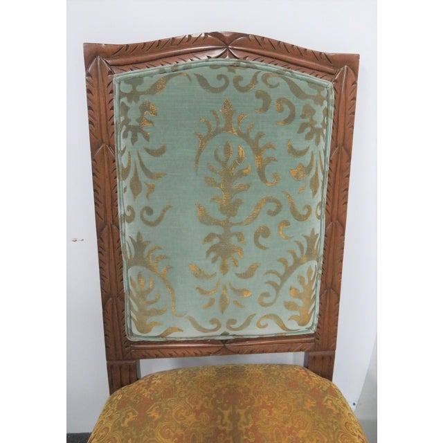Rococo Style Italmond Furniture Co Dining Chairs - Set of 10 For Sale - Image 10 of 12