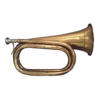 Antique Brass Horn