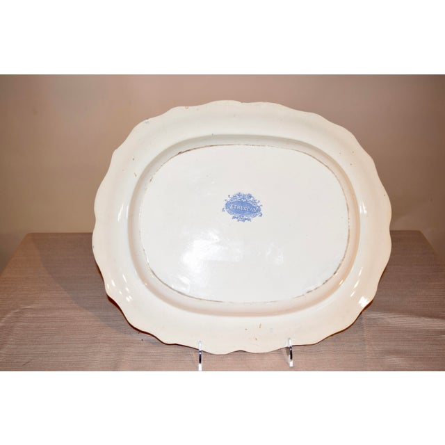 """1830s """"Etruscan"""" Platter For Sale - Image 4 of 6"""