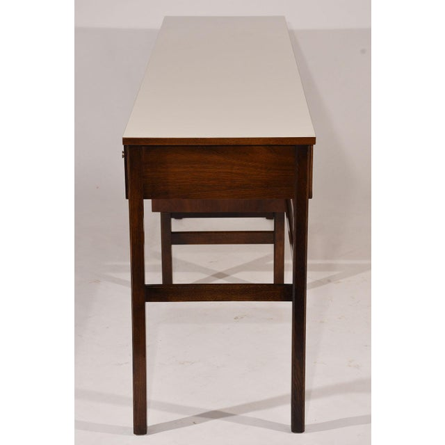 Mid-Century Modern-style Desk by Basset Furniture For Sale In Los Angeles - Image 6 of 8