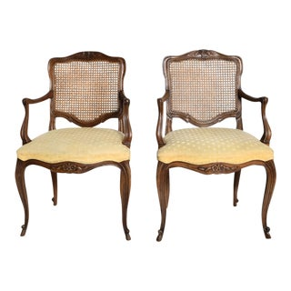 Hollywood Regency Pair of Arm Chairs by Kindel For Sale