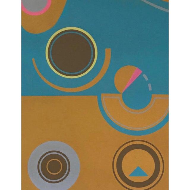 Robert Hunter (born 1928) Brown and Blue, 1973 Silkscreen, 55 of 60